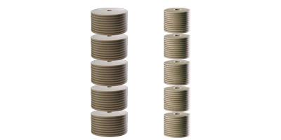 CJC Feinfilterpatronen 38/100 und 27/100, Zellulosefilter, Tiefenfilter