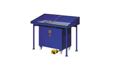 CJC Reinigungstisch RT40 XL - Teilereiniger mit Feinfilter