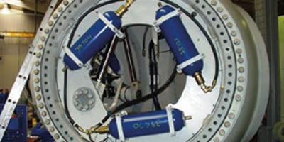 Hydraulischer Pitch-Antrieb, Windenergieanlage