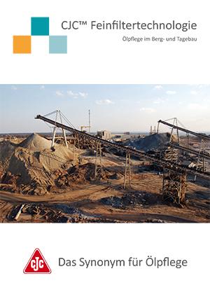 Ölpflege im Berg- und Tagebau