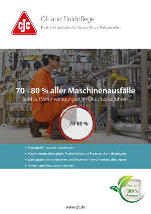 Ölpflege in industriellen Anwendungen