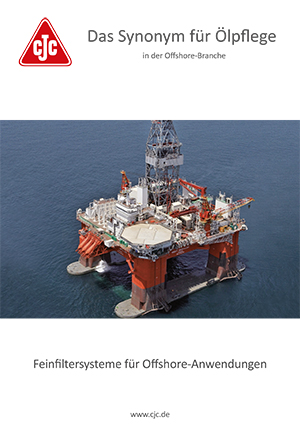 Prospekt, Ölpflege Offshore