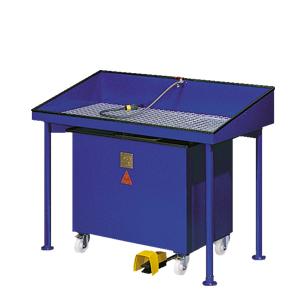 Reinigungstisch RT 40 XL - Sonderausführung gemäß Kundenspezifikation