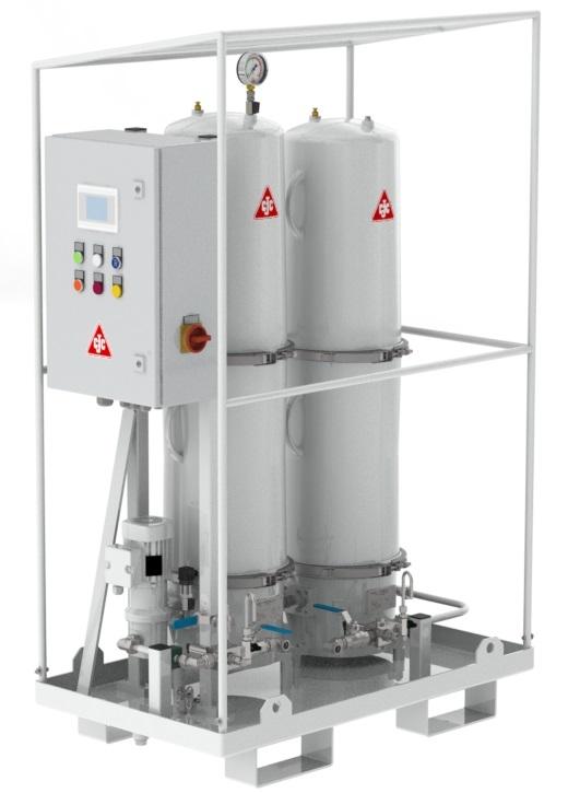 Trafo-Fluidpflegeanlage 2R27/108, Online-Trocknung Papierisolierung, Isolieröl