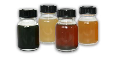 Verunreinigungen im Öl