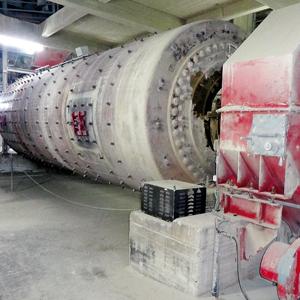 Ölpflege in der Zementindustrie, Zementmühle