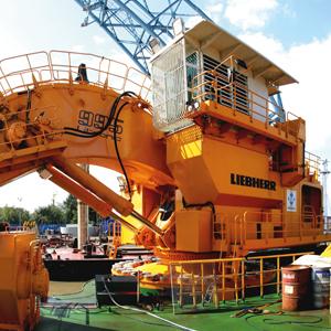 Ölpflege bei fahrbaren Maschinen