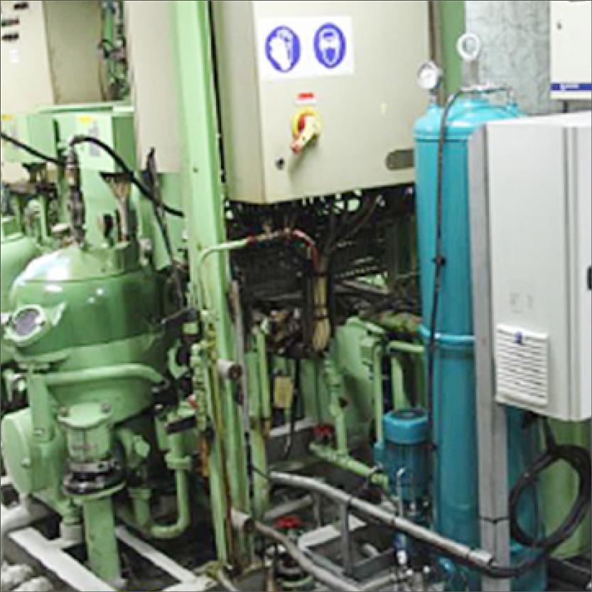CJC Ölpflegesystem, Marine Dieselmotor, Zentrifuge