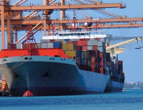 Schmierölpflege an 4-Takt-Dieselmotoren – Containerschiff