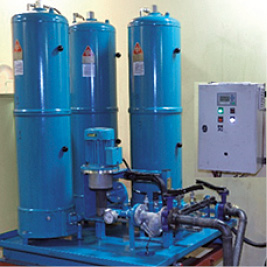 Ölpflegesystem 3x27/108, schmierölpflege