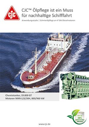 Schmierölpflege, 4-Takt-Dieselmotor, Chemietanker