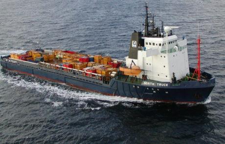 Versorgungsschiff