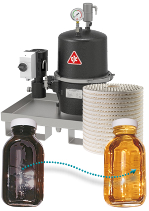 CJC Oil-Care Systems for oil care and fluid care, fine filtration, microfiltration