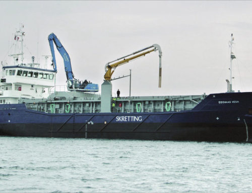 Motorschmierölpflege 4-Takt-Dieselmotor – Frachtschiff