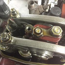 Marine 4-Takt-Dieselmotoren, Motorschmierölpflege