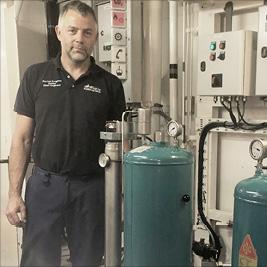 Technischer Inspektor, CJC Ölpflegesystem