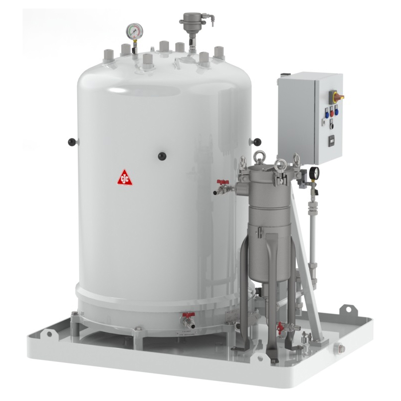 Fine Filter Unit 727/108 for quenching oil