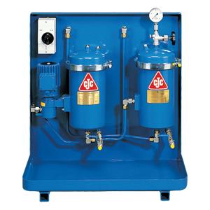 CJC Fluidpflegeanlage zur Filtration von Phosphorsäureester