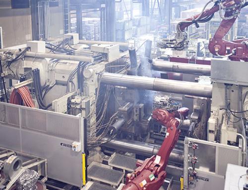 HFC-Fluid pflegen – Druckgießmaschinen