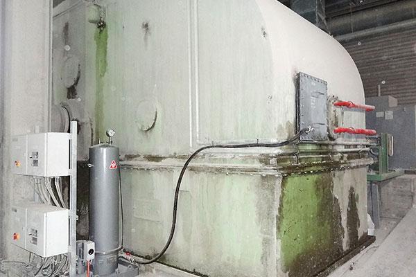 Hauptgetriebe mit CJC Ölpflegesystem