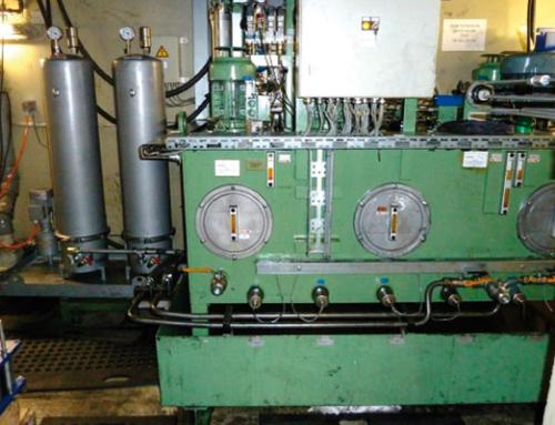 Schmieröl-Filtration – Hydraulikpresse