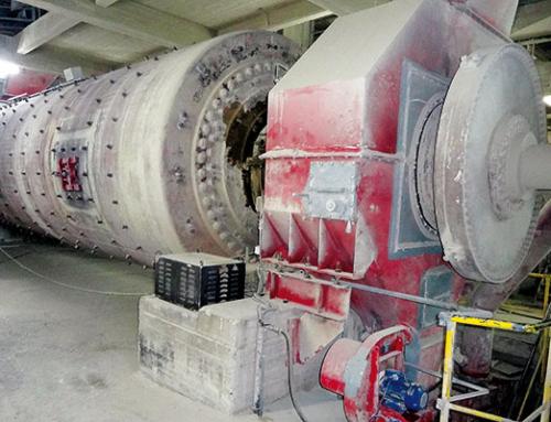 Getriebeöl-Filtration – Hauptgetriebe, Zementmühle
