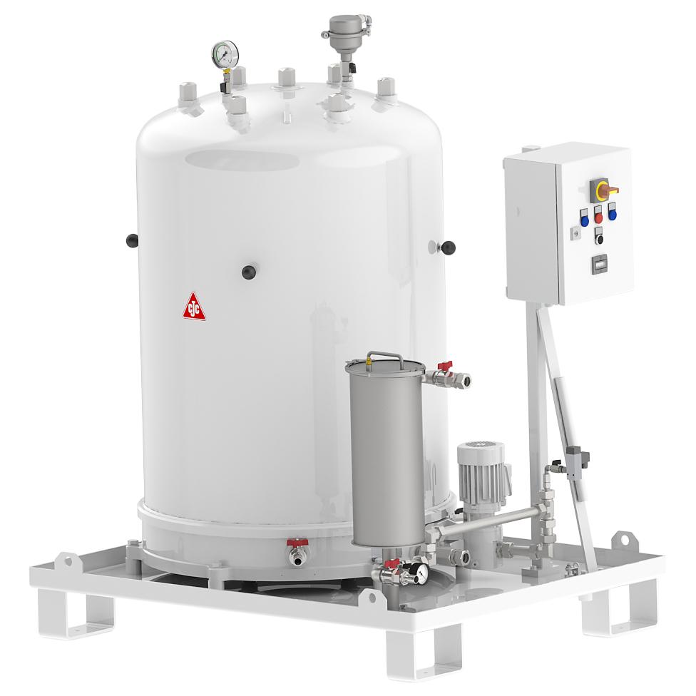Feinfilteranlage 727/108 für Härteöl