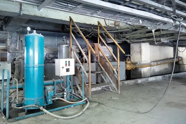 Getriebeöl-Filtration mit CJC Schmierölfilter, Feinmühle, Zementwerk