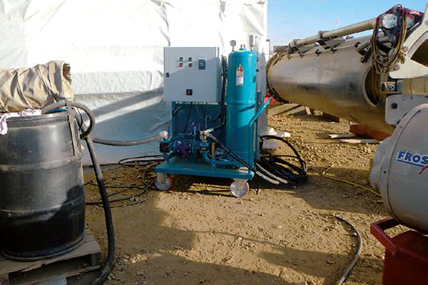 Hydrauliköl Feinfiltration und Pflege, mobiles Ölpflegesystem