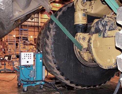 Getriebespülung, Getriebeölfilter, Muldenkipper