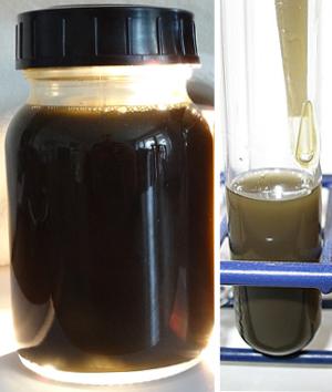 Ölprobe, Kegelbrecher Sandvik H4000 ohne Nebenstromfilter
