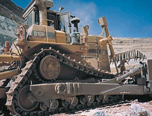 Motorschmieröl Feinfiltration, Dieselmotor Planierraupe