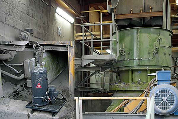 Schmierölfilter, Getriebe Kegelbrecher Sandvik