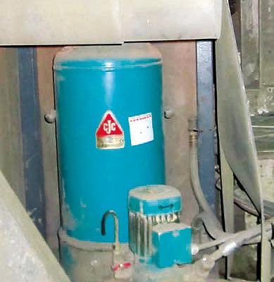 Schmieröl pflegen, Fest-Los-Lagerung, Zementmühle, , CJC Ölpflegesystem