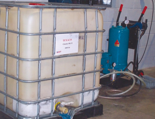 Schmieröl-, Schneidöl-Filtration, Drehautomaten