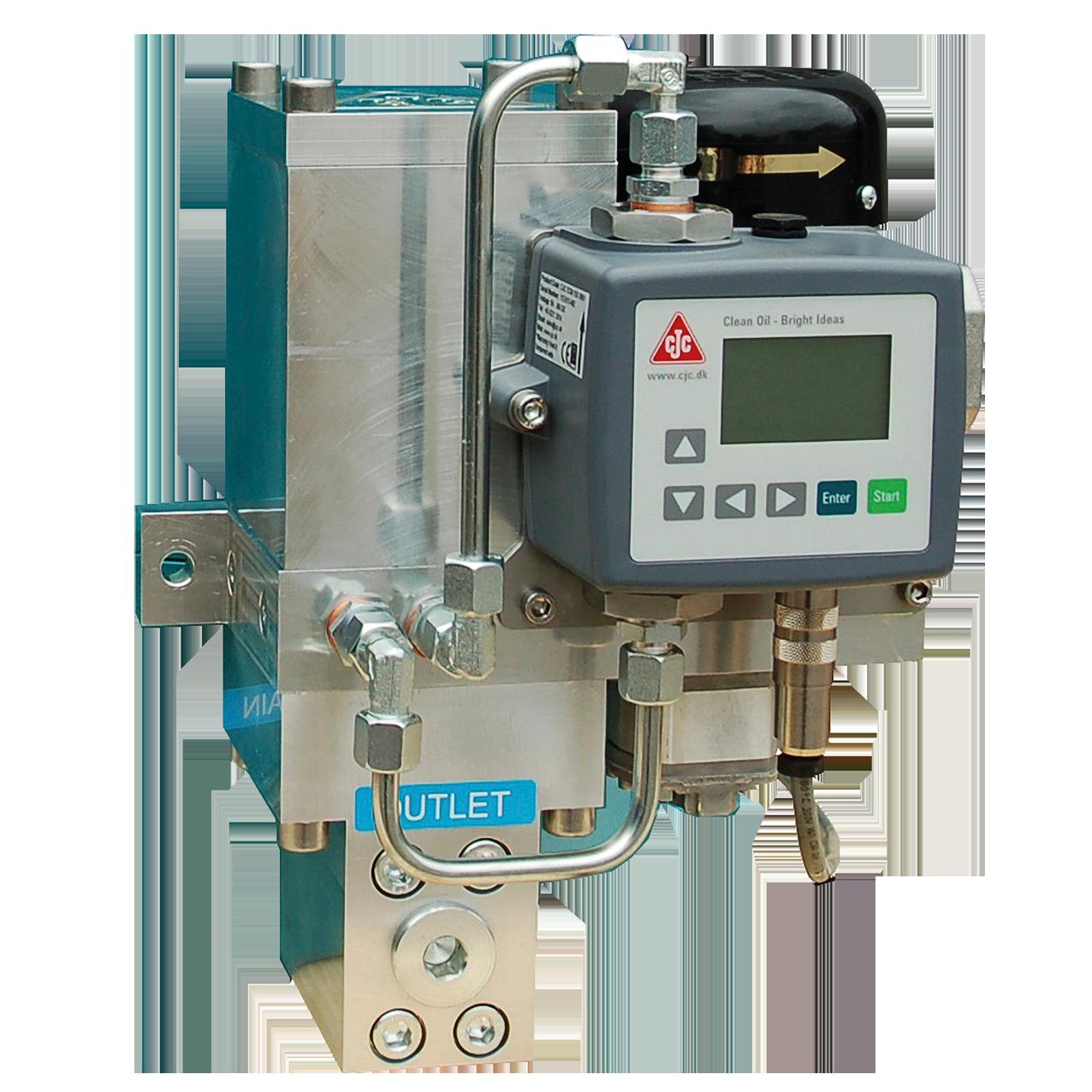 ölsensoren, oil contamination monitor ocm