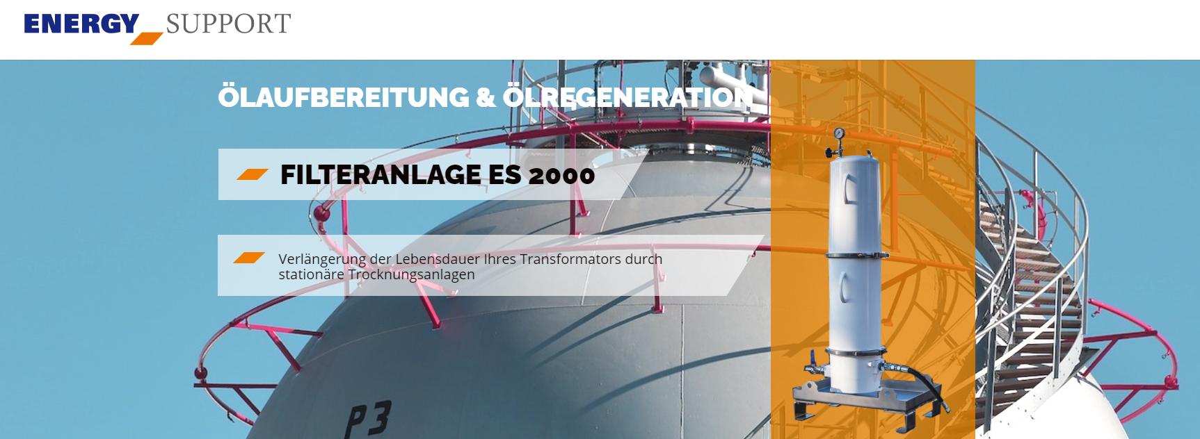 Energy Support, Filteranlage ES 2000