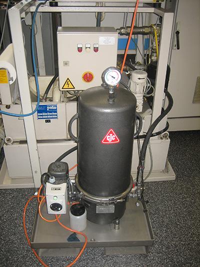 Schleiföl-Filtration, KSS-Filter CNC Werkzeugmaschinen