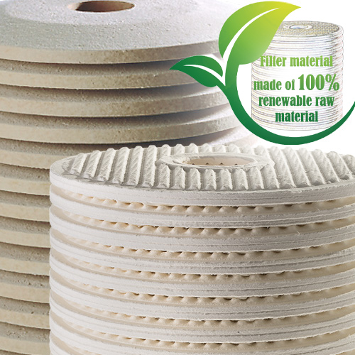 Cooling lubricant filtration with CJC fine filter cartridges