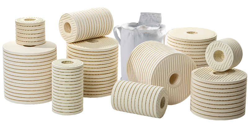 CJC® Fine and Depth Filter Inserts for oil care systems