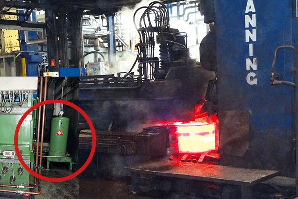 hydrauliköl filtern und pflegen bei ringwalzmaschine