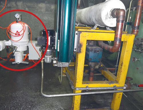 Hydrauliköl filtern im Nebenstrom – Ringwalzmaschinen