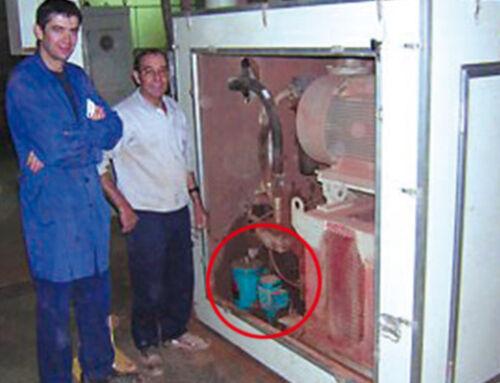 Hydrauliköl-Filtration Keramikpresse