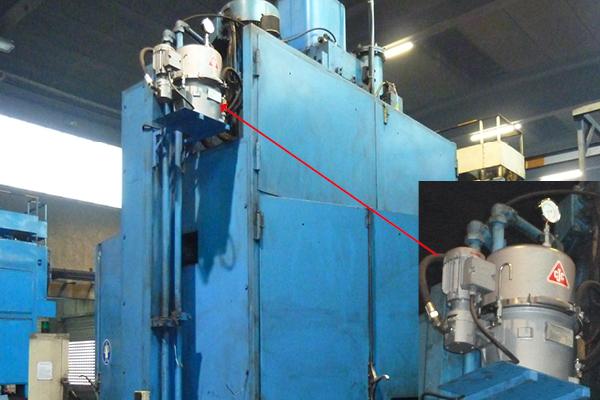hydrauliköl filtern im nebenstrom, schmiedehammer lasco