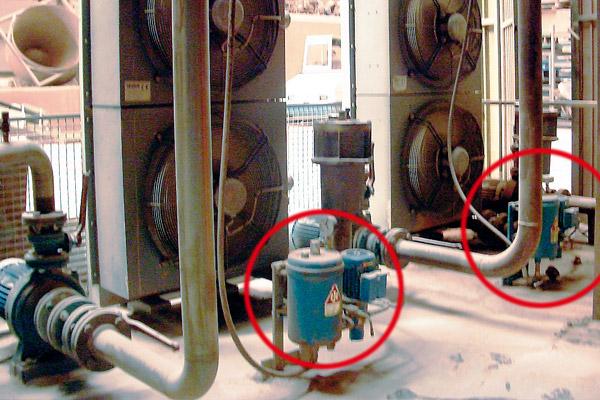 hydrauliköl filtern im nebenstrom bei keramikpressen
